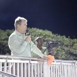 Kommentator ist der BVI Fussballpräsident Andy Bickerton himself