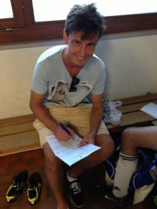 Unterzeichnung Fabiano